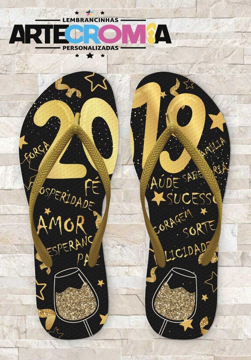 47fde703991fe8 Sandálias Personalizadas: Confraternização Final De Ano