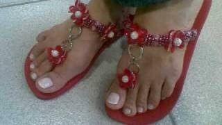 sandálias personalizadas feminina