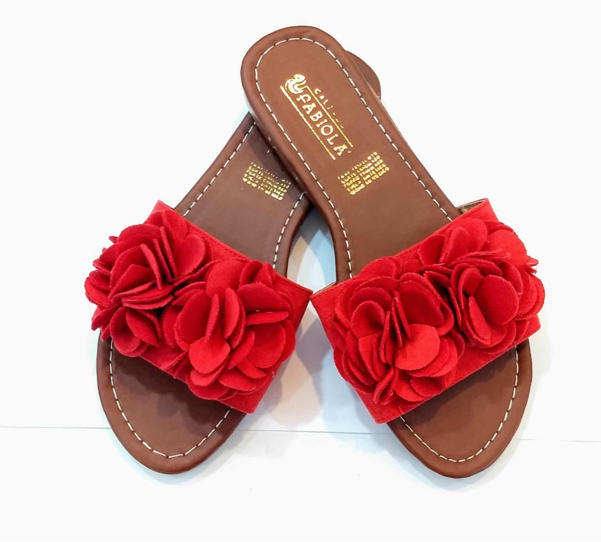 Moda Dama Casual Chancla Flores Coral Huara Planas Sandalias yY7gbf6