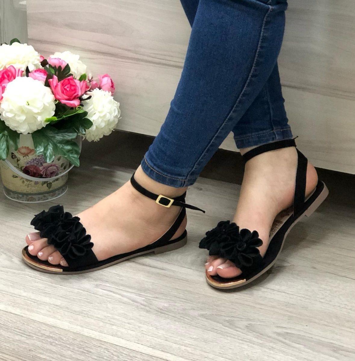 zapatillas de deporte para baratas 56f66 39627 Sandalias Colombiana Moda Moda Sandalias Planas Planas 2019 ...