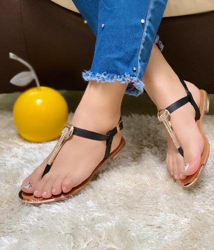 sandalias planas mujer moda calidad colombiana