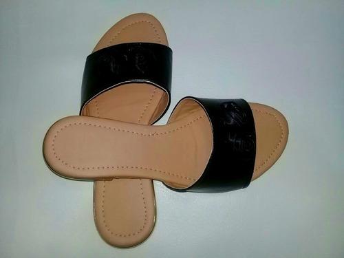 sandalias planas para dama, excelente calidad