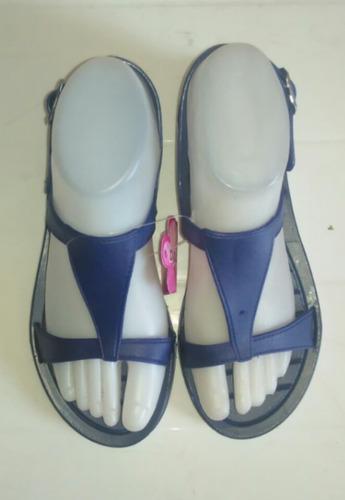 sandalias plasticas para dama