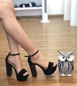 a5f83f5f2fe Zapatos De Plataforma Verochi Color Morado Y Negro - Zapatos para ...