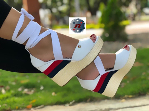 sandalias plataforma hermosas + moda + envío gratis