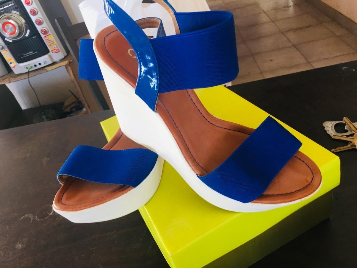 Plataforma Marca Sandalias Con Bs50 CactusBlancas Azules 000 00 8n0wvmNO