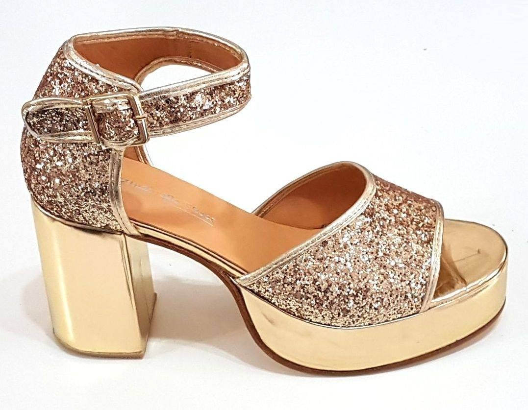 710aeed5162 sandalias plataforma numeros 41 42 43 44 zinderella shoes. Cargando zoom.