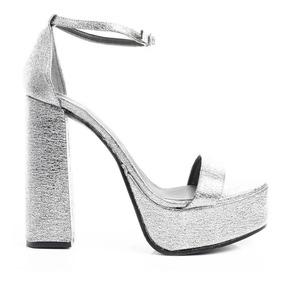 Mujer De Dama Zapatos Fiesta Stiletto Plataformas Sandalias 3AR54qLj