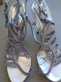 Sandalias Con Sandalias Con Plateadas Plateadas Pedreria Pedreria u1TlcFJ3K