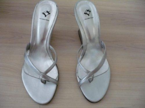 sandalias plateadas eduardo ferro !!! divinas!!!
