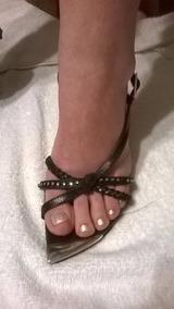 Suela Zapatos Negras Sandalias Roja En Mujer Zapatillas 14 Cm ukTOwiPXZ