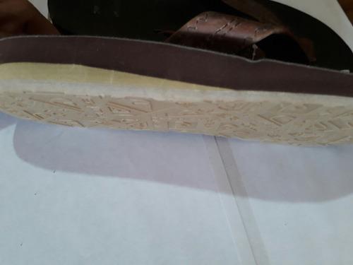 sandalias quiksilver en piel