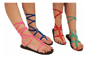 Sandalias Zapato De En Mujer Verde Y Ojotas Color Limon gv7bf6Yy