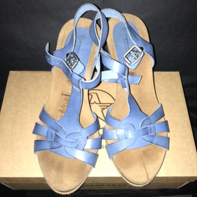 Zapatos Oasis Azul Sandalias RopaY Plataformas WH9YIED2