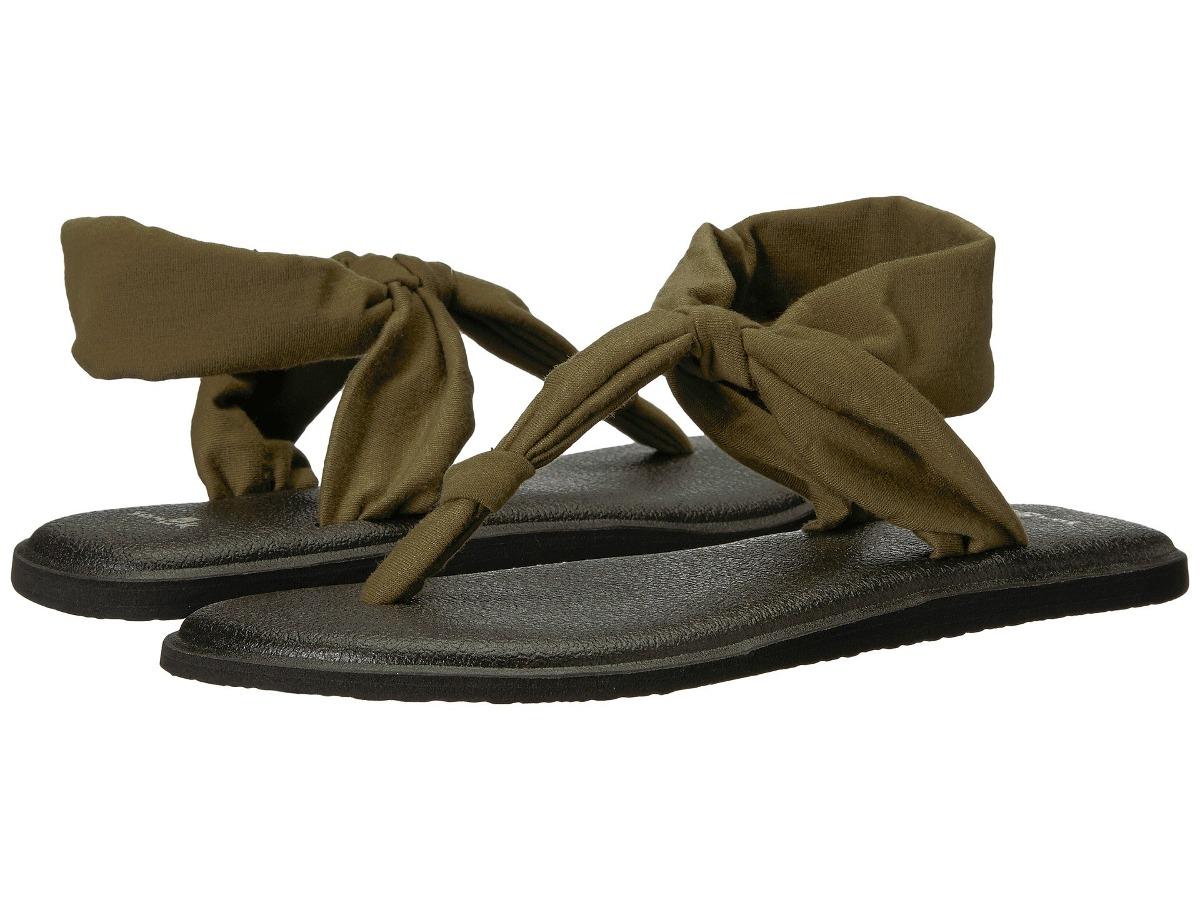 sandalias sanuk yoga sling ella verde oscuro s.1. Cargando zoom. 26092d6ada70