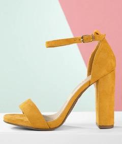 Gamusa Talla Sandalias Shein 5 Color De 38 Amarillo bfyI6gmvY7