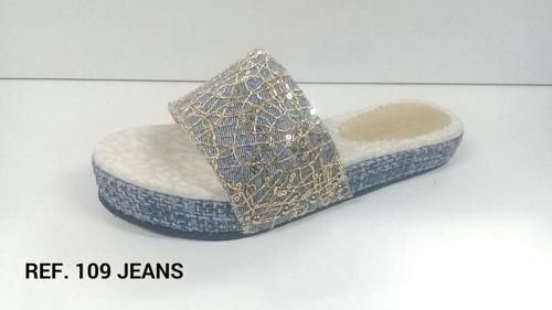sandalias suecos bajitas de dama gio mayor y detal