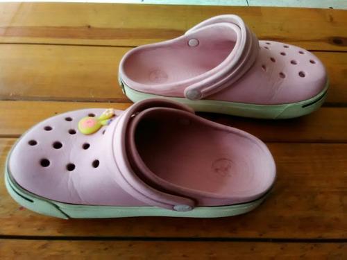 sandalias suecos zapatos crocs niña originales