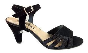 4 Cm Mercado En Numen Zapatos Sandalias Fabrica Con Taco Negras T1lFc3KJ