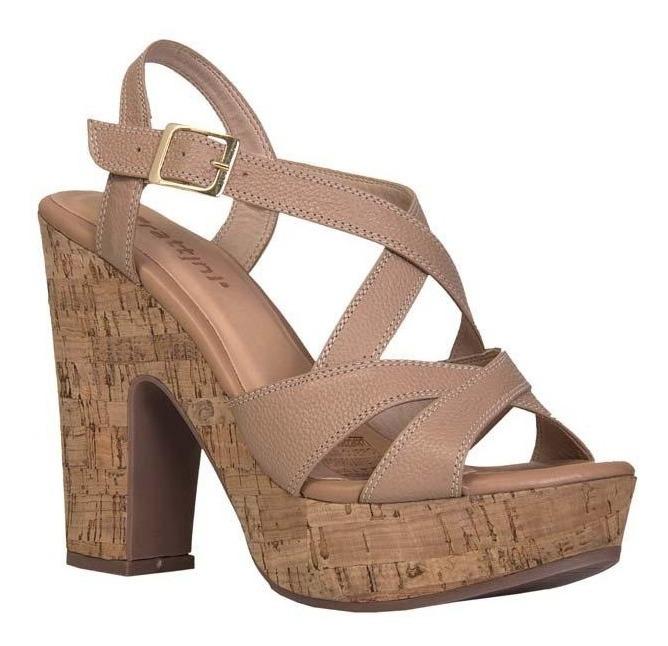 mejores zapatillas de deporte 51ff6 c14c3 Sandalias Tacón Para Mujer Camel, Negro Frattini / M-3065