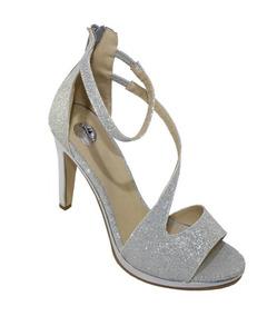 2ac547f7 Baratas Sandalias Plateadas Marca Mossimo Sin Tacon Mujer - Zapatos ...