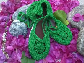 3dfa7b3ca Sandalias Tejidas En Crochet Fotos Zapatos Y Sandalias - Zapatos de ...