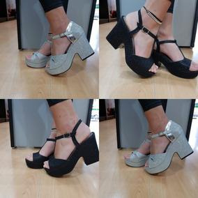 Argentina Tipo Plateado En Mercado Gomones Libre Zapatos Sandalias T13FKlcJ