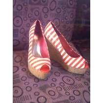 sandalias tipo plataforma de corcho marca nello rossi