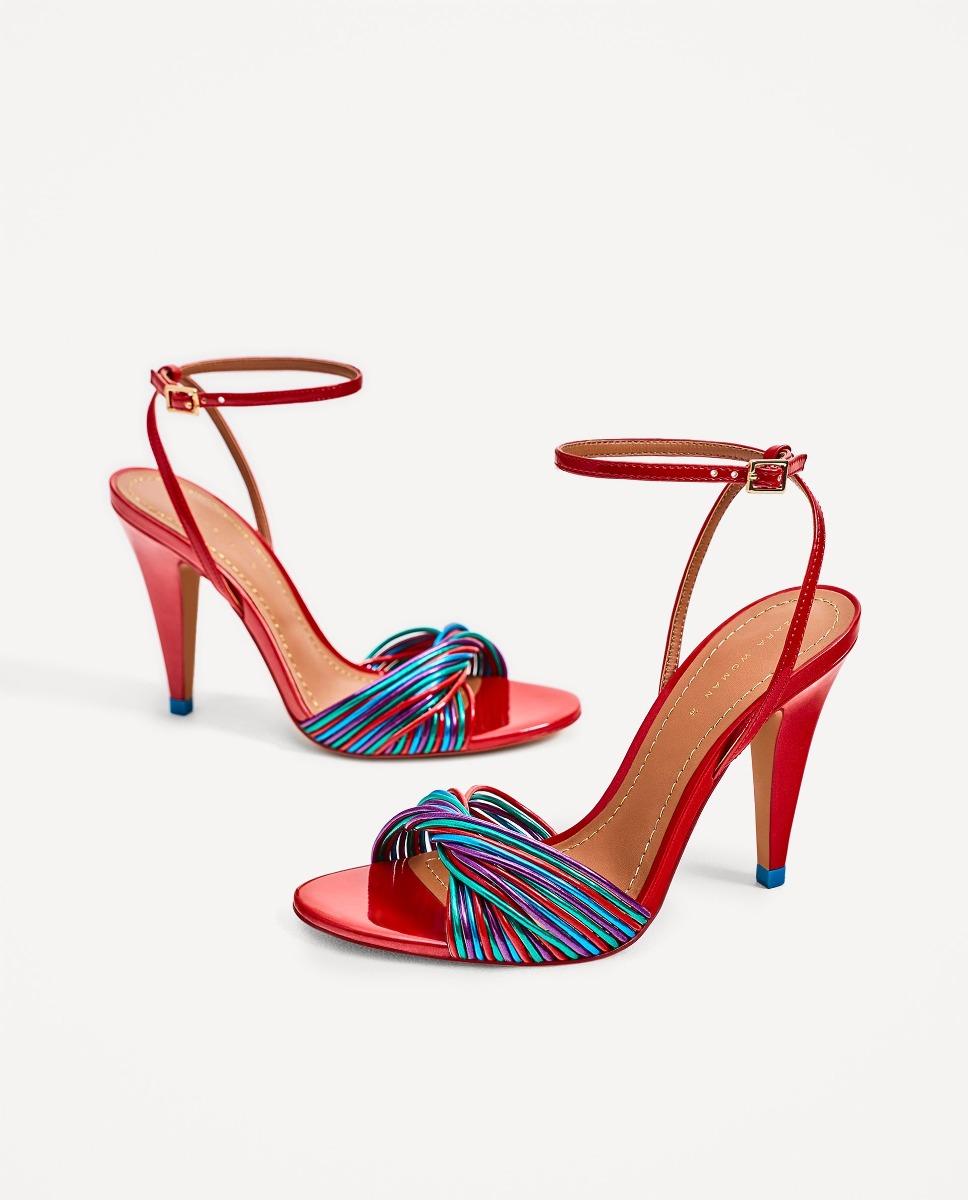 9d8fbd44dbe sandalias tiras multicolor zara españa importadas moda. Cargando zoom.