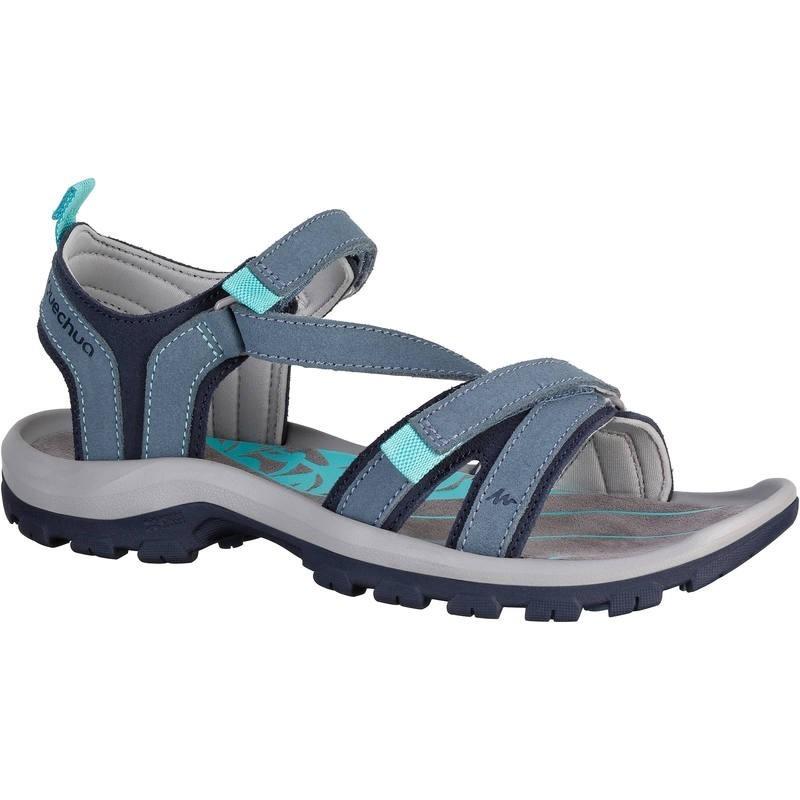 Sandalias 120 Travesía Mujer Azul Claro Arpenaz P8kX0nwO
