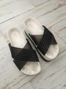 Zapatos Mujer Talle 36 Plastico Cangrejeras Sandalias De Usado wuiPZOXTlk