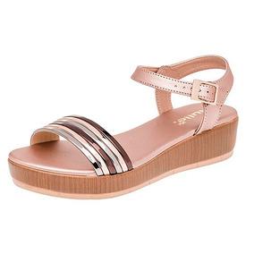 En De Mujer Ninas Dorado Zapatos Privalia Vestir Sandalias oedCBx
