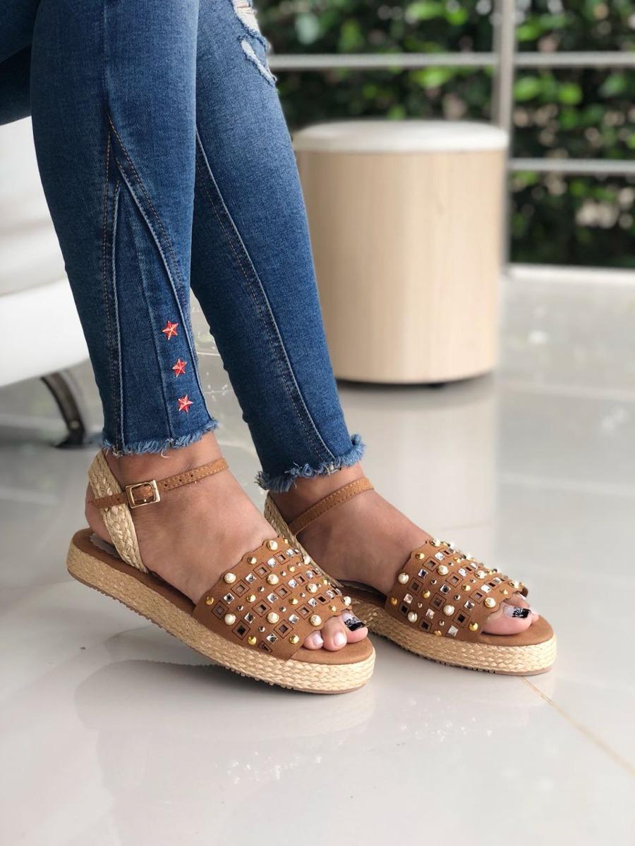 Dama Chica Nueva Yute Mujer Fashion Sandalias Colección DIYeWEH92