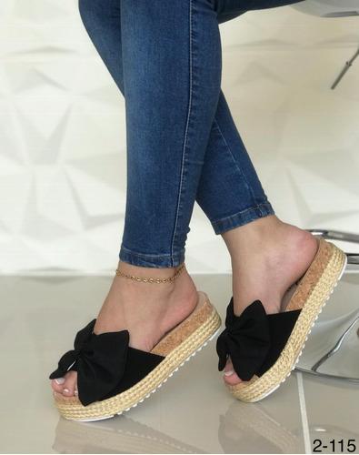 sandalias zapatilla plataforma dama pregunte dscto 20%