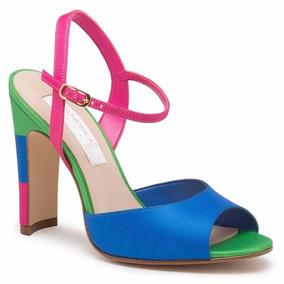 Andrea Mercado Mujer En Libre Stilletos México De Zapatillas Azul Rosa CQdhrBtsx