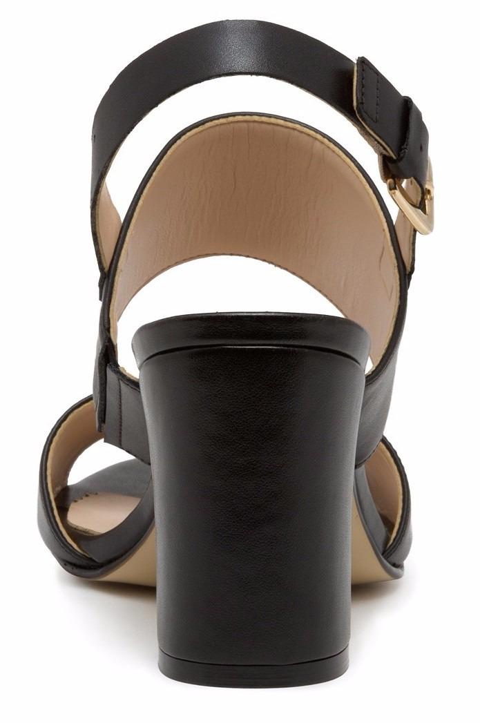 24a53fa7565 sandalias zapatillas andrea negras d piel tacón bajito ancho. Cargando zoom.