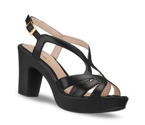 0305a508 Zapatillas Mujer Tacon Ancho - Zapatos Sandalias en Mercado Libre México