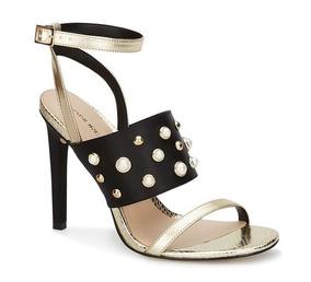 Vv4 Bebe Alto Zapatos Dorados Sandalias Tacon Marca 4 08PnwkXNOZ