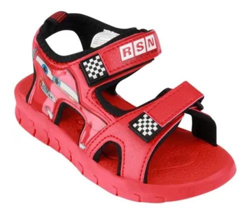 sandalias zapatillas disney cars luz originales mundo manias