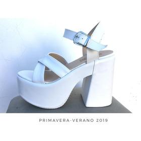 Sandalias Zapato Calzado Moda Taco Altmujer Fiorcalzados