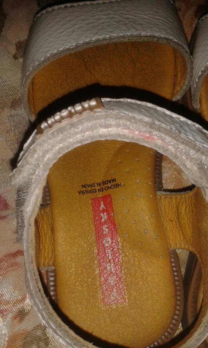 Zapatos Niña 26 Talla Españolas Bs Sandalias Blancas Blanco ikXPZuTO
