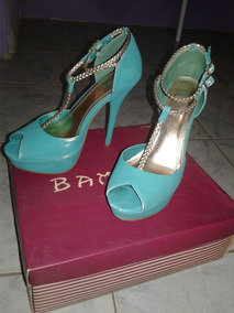 Tacon Bamboo Plataforma 37 Zapatos Botines Sandalias Talla pVSqGUzM