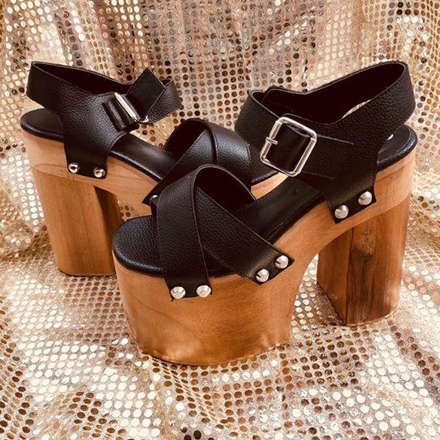 f748bd2182d Sandalias Zapatos De Plataforma Y Taco De Madera Mujer -   1.999