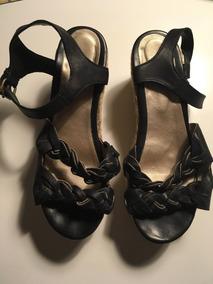 Zapatos Vane Negro 39 Sibyl Boho Yute Sandalias Marca Cuero LcARq3S4j5