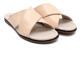 Cuero Sandalias Livianas Cruzadas Mujer Zapatos Elegantes FulK13TJc