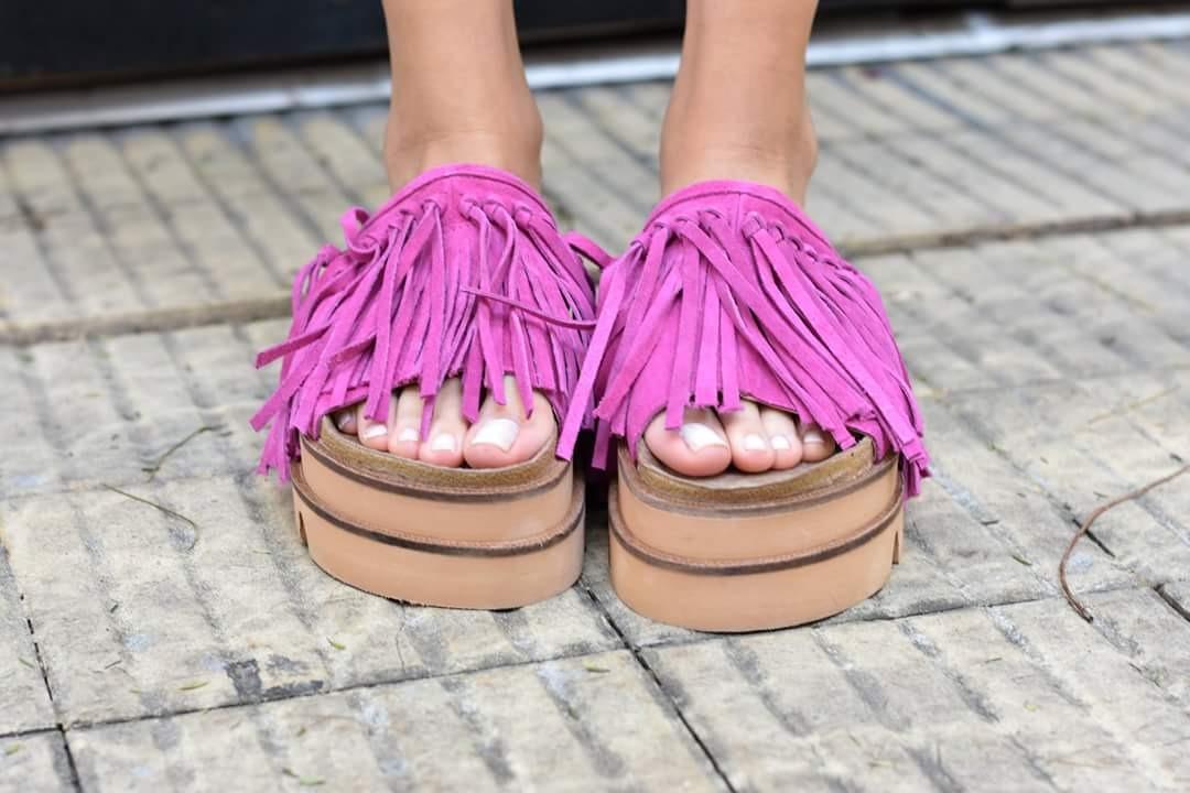 Mujer Plataforma Gomon Flecos 2018 Zapatos Verano Sandalias jq34RLA5