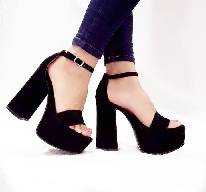 Moda Mujer 400 Zapatos Stiletto Plataforma Palo Sandalias 1 Taco wxAYRaRqO b0a3dafbf842