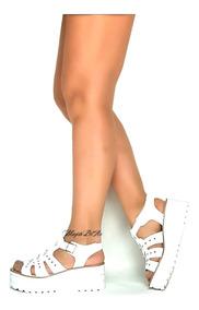 d6ca247d Sandalia Zapatos Mujer Plataforma Liviana Verano 2018 - Ropa y ...