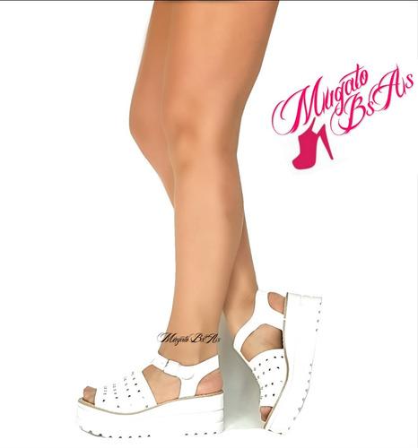 sandalias zapatos taco chino plataforma moda verano 2018