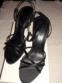 Ojotas Zara Negras En Mujer Sandalias Y n0wOPk